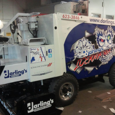 ICERNATOR Zamboni Wrap for Darling's and the Maine Ice Vault